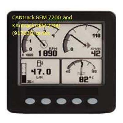 CANtrak-GEM-7200/KANtrak-GEM-2700 CCAEDU0001/0004