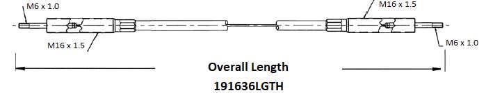 Walvoil - Non Swivel Fittings 191636-0XX