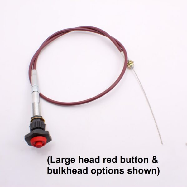 Vernier Cable red button_090-33090-LGTH