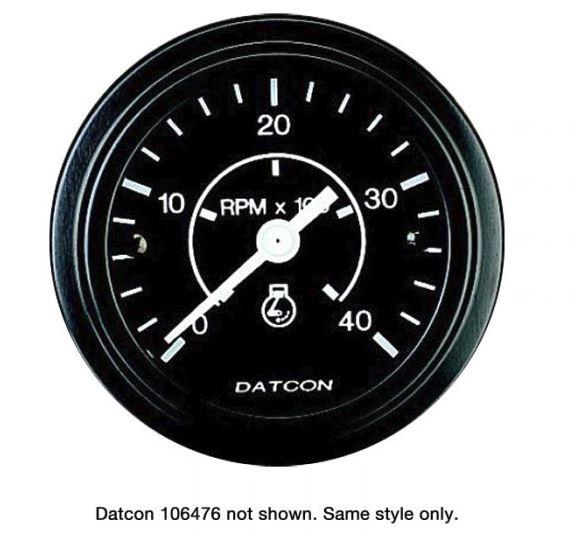 """Tachometer Gauge 2"""" 106476"""